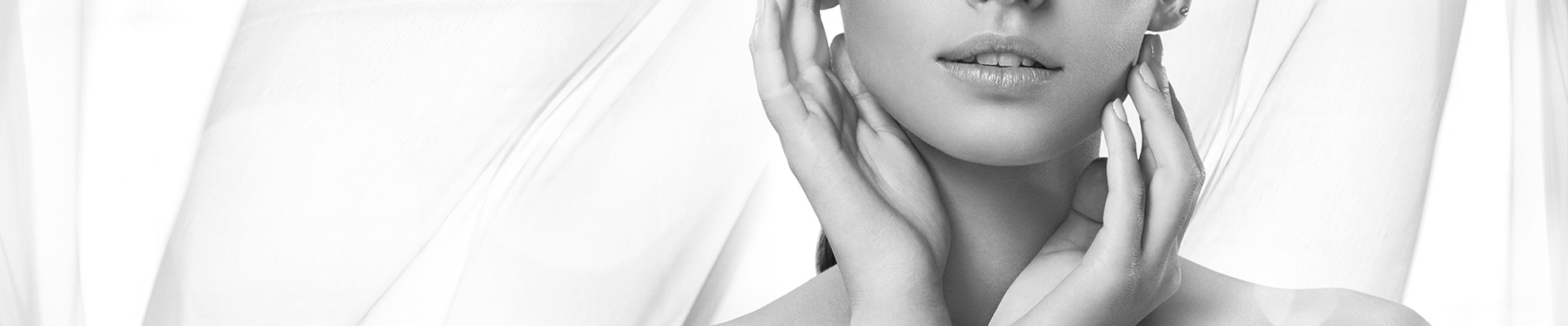 Beauty Banner Black and White