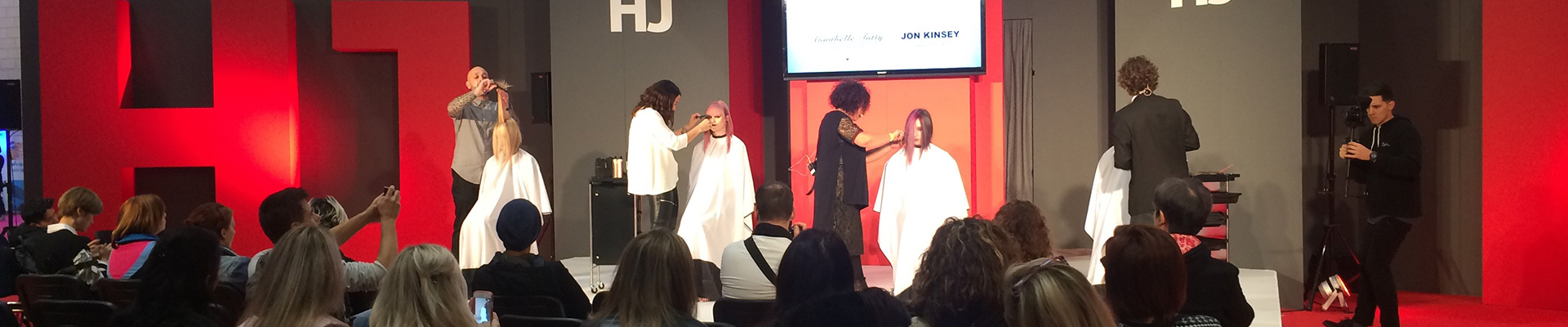 The HJ Stage at Salon International