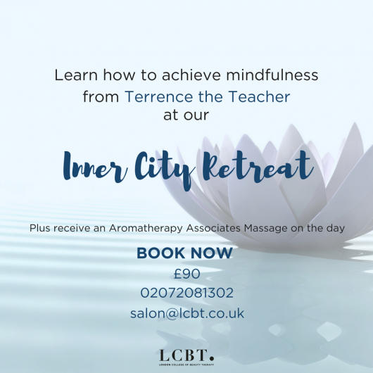 Inner City Retreats at LCBT with Terrence the Teacher delivering a highly popular talk on Mindfulness and how you can be more mindful in your everyday life.