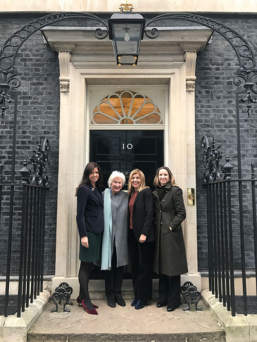 CEW at 10 Downing Street
