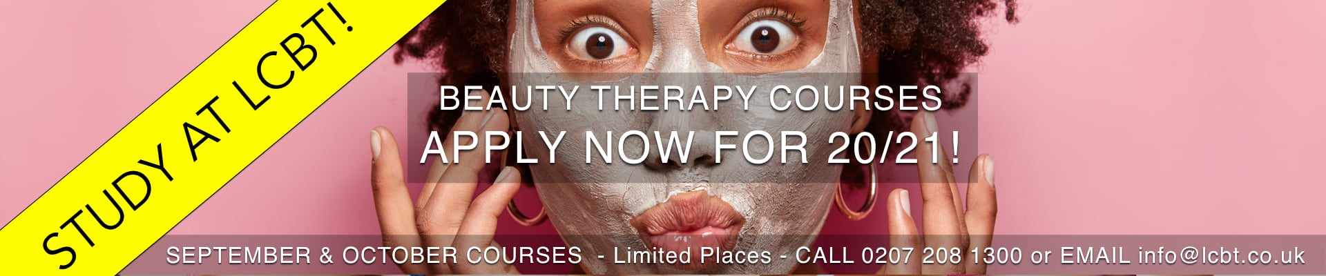 LCBT Beauty Therapy Courses released for September 2020 - Apply Now!